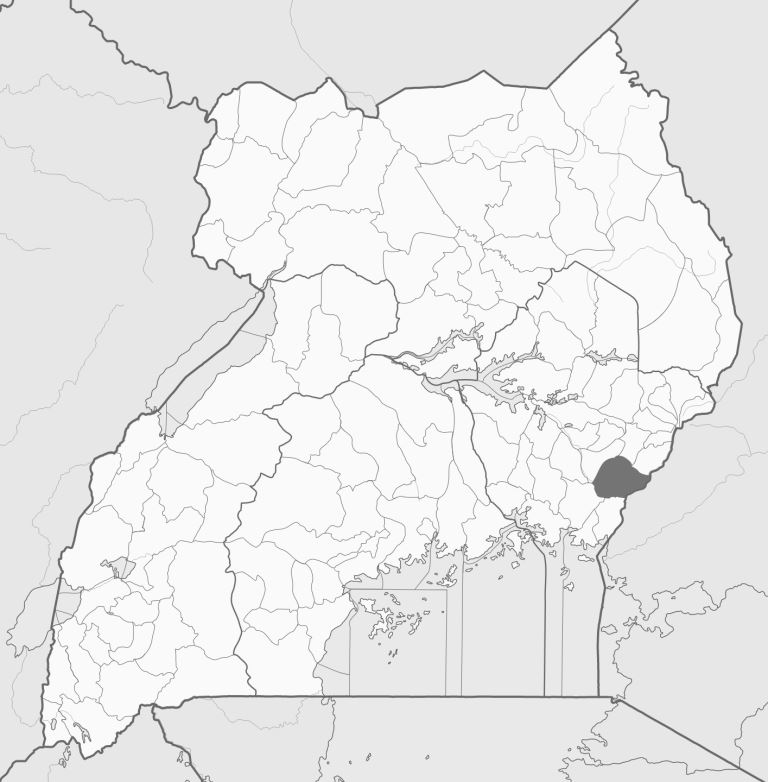 Spatial location of Tororo District in Uganda. Image courtesy of Wikipedia