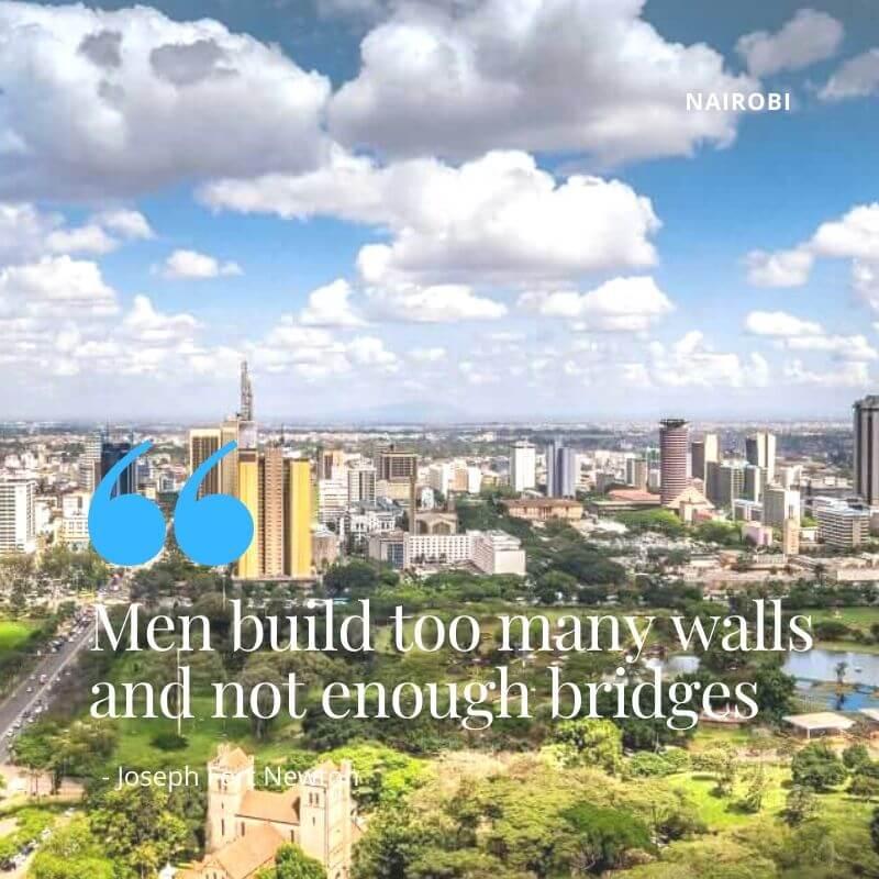 Urban Revitalization and Nairobi Community