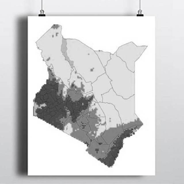 Climatic Map of Kenya