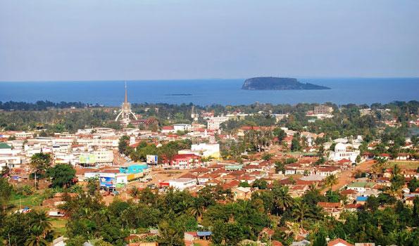 View of Bukoba Town in Kagera Region