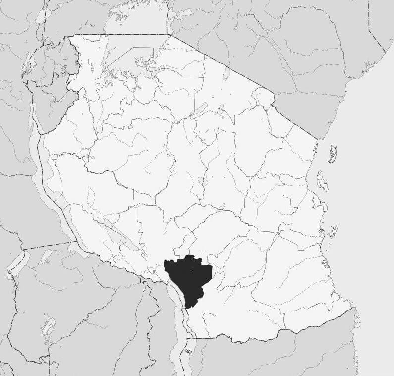 Spatial Location of Njombe Region in Tanzania