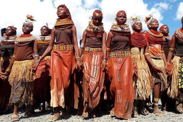 The Beautiful Turkana Girls. Image Courtesy of Daily Nation