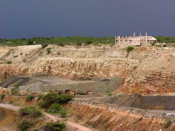 Williamson Diamond Mines in Mwadui, Tanzania