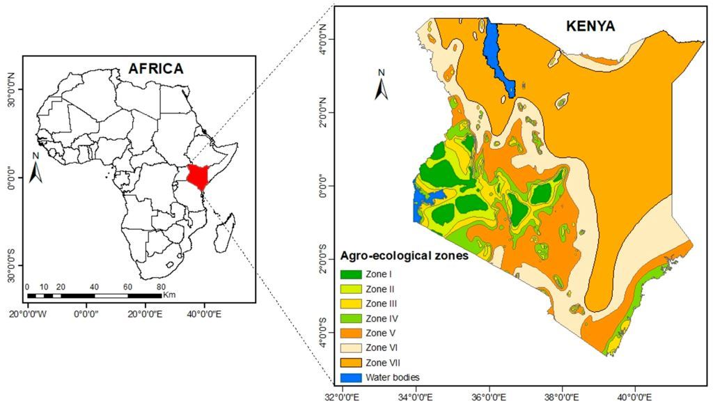 Climate & Agro-Climatic Zones in Kenya