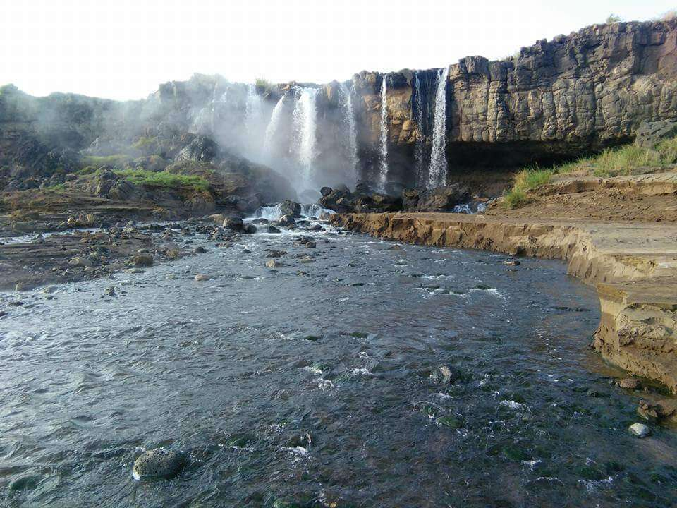 Kapedo or The Nakegere Fall. Image Courtesy of Mayfair Aviation
