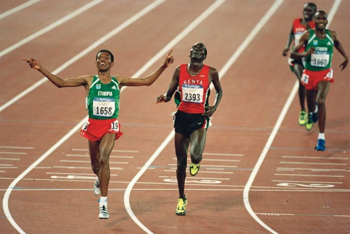 5,000 & 10,000m event looks backs on Kenya's greatest moments at both the 5,000m and 10,000m event at the Olympic Games