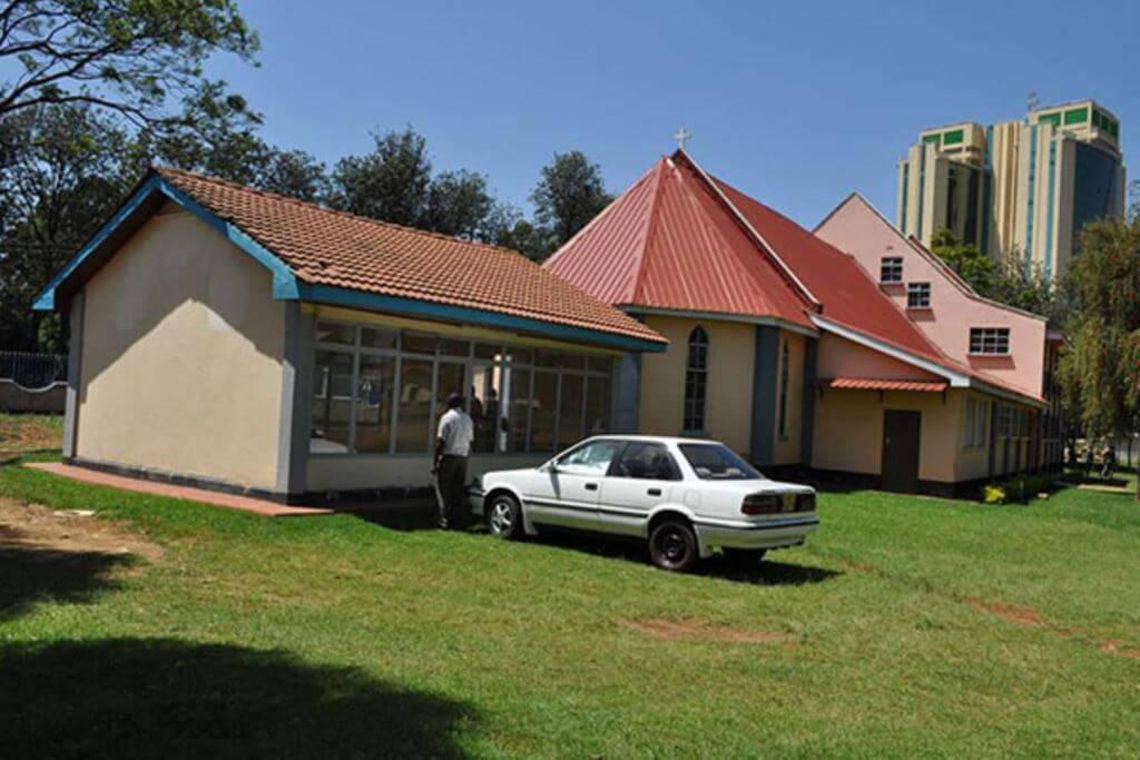Mugo Mausoleum at St. Matthew's ACK Church Eldoret. Image Courtesy of Nation