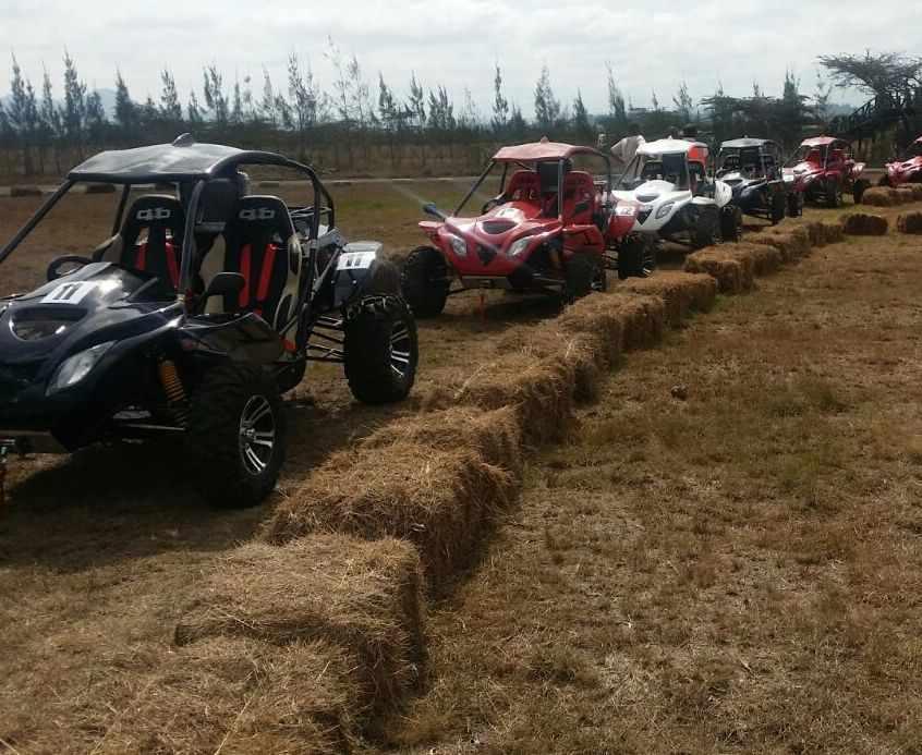 Buggies All Rearing To Go at Chaka Ranch Nyeri. Image Courtesy of Chaka Ranch