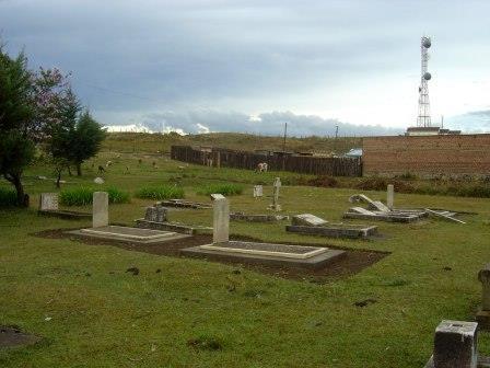 Eldoret War Cemetery near Eldoret Town in Uasin Gishu County