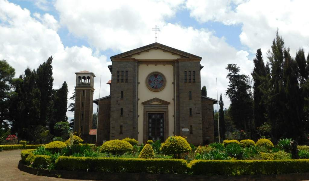 Italian War Memorial Church, Nyeri. Image Courtesy of Kenyan Backpacker