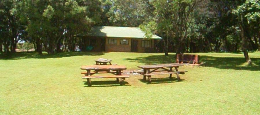 Kapturo Cottages at MENP, run and maintained by Kenya Wildlife Services