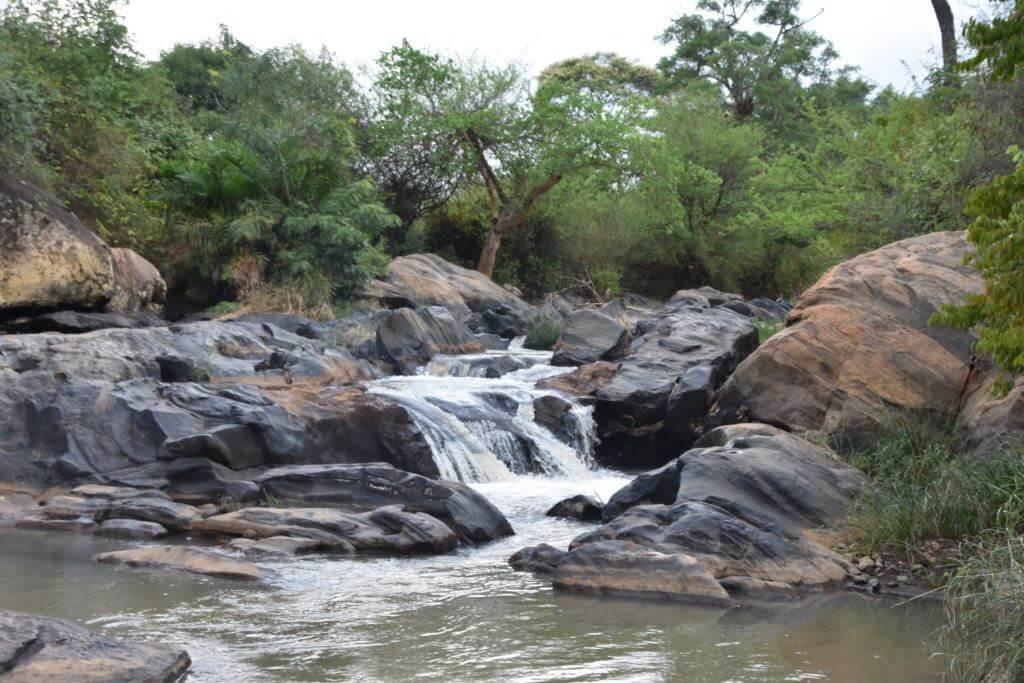 Kithino River Rapids in Tharaka Nithi. Image Courtesy of The Gaia Foundation