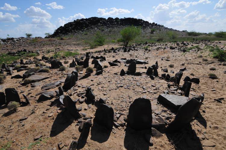 The Lokori Pillar Site or Nariokotome II Stone Site in Turkana County