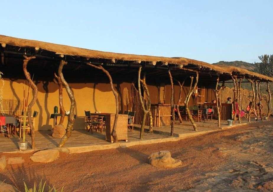 Maji Moto Maasai Cultural Camp in Narok County. Image Courtesy of BKenya