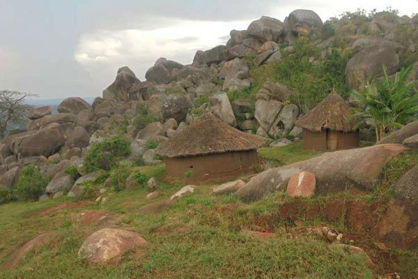 A Section of the Mungoma Caves in Maragoli Hills