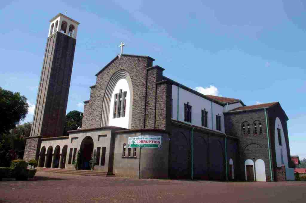 Nyeri Cathedral along Kenyatta Road in Nyeri - National Monuments in Kenya