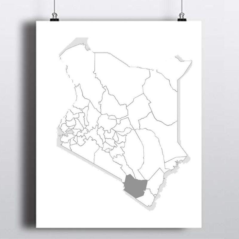 Spatial Location of Taita Taveta County