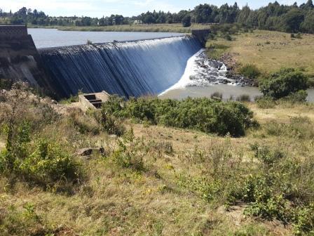 Two Rivers Dam near Eldoret Town. Image Courtesy of EldoretPress