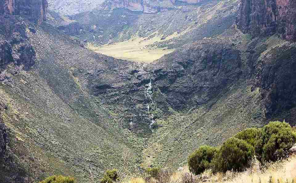 Vivienne Falls in Mount Kenya National Park. Image Courtesy of Mara Expeditions