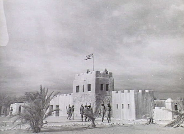 Relic Photo of Fort Wajir during WW2. Image Courtesy of AWM