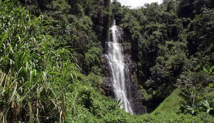 Zaina Falls in Nyeri County. Image Courtesy of Nyeri on Twitter