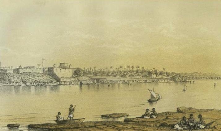The island of Mombasa in 1636.  Image Courtesy of Learnodo-newtonic