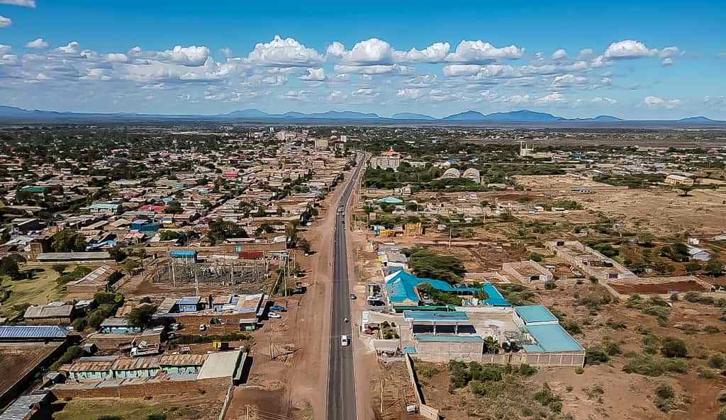 Aerial View of Isiolo Town. Image Courtesy of Isiolo Tourism