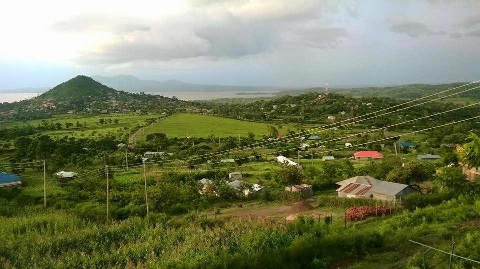 Aerial View of Homa Bay Town. Image Courtesy of Rogg Kenya