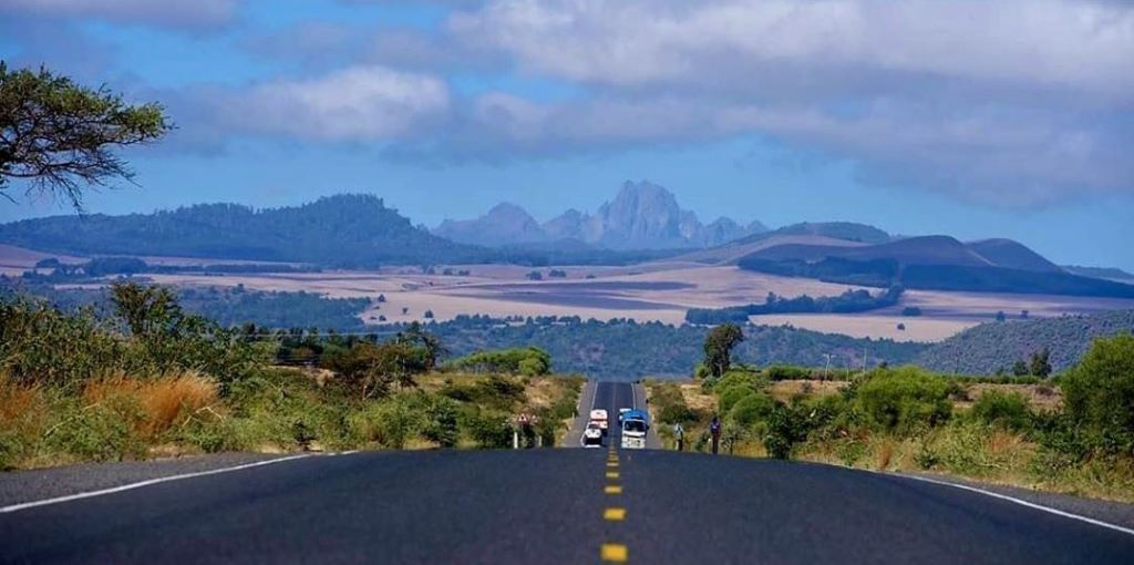 Mount Kenya from Isiolo County. Image Courtesy of Isiolo Tourism