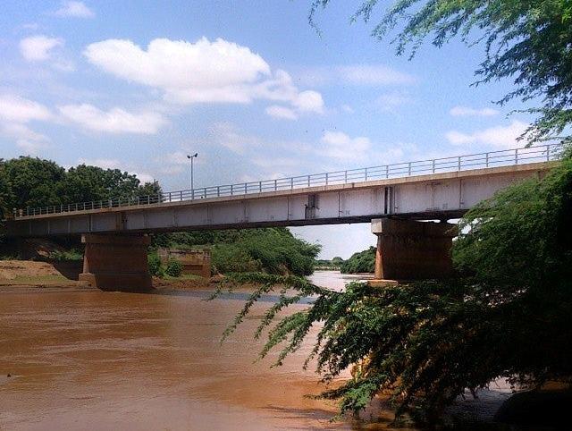 Garissa Tana Bridge near Garissa Town. Image Courtesy of Amir Mogharrabi