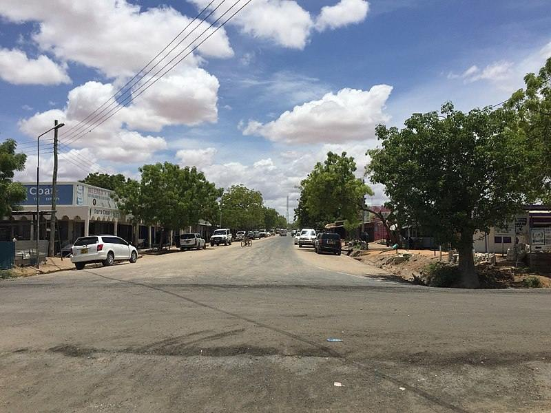 A Section of Garissa Town (in 2016).  Image Courtesy of Panoramio