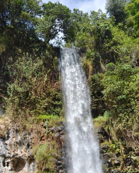 Devil's Waterfalls, Meru. Image Courtesy of Meru Tourism