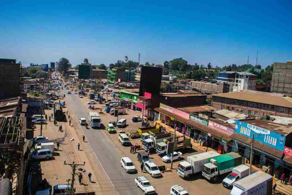Makutano Junction, Meru. Image Courtesy of Meru Government