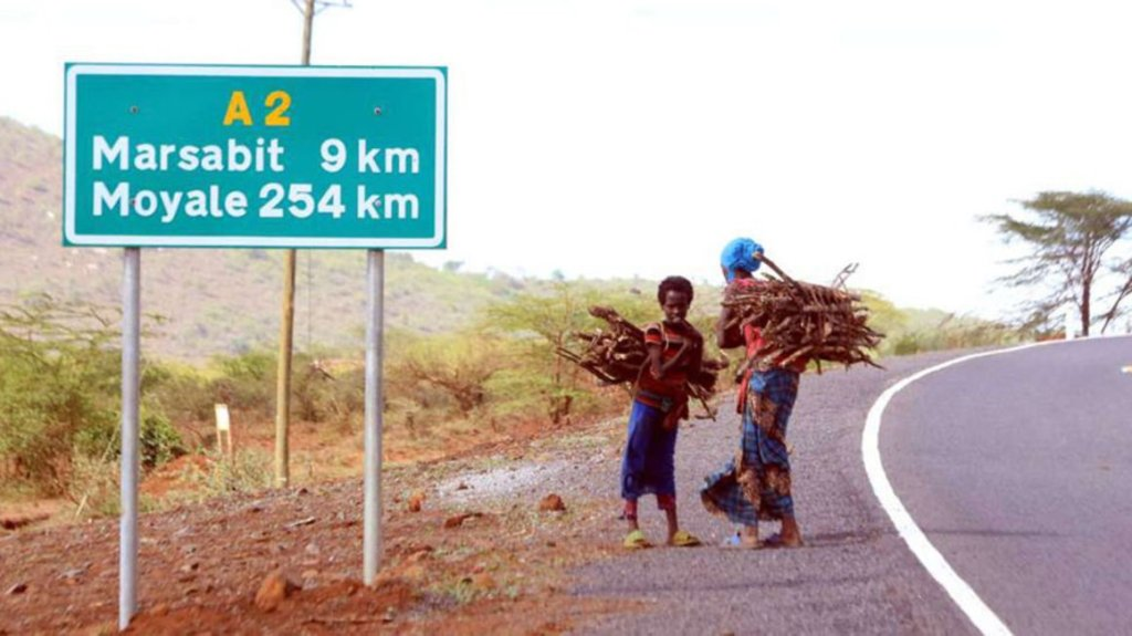 En-route Marsabit Town. Image Courtesy of Business Daily