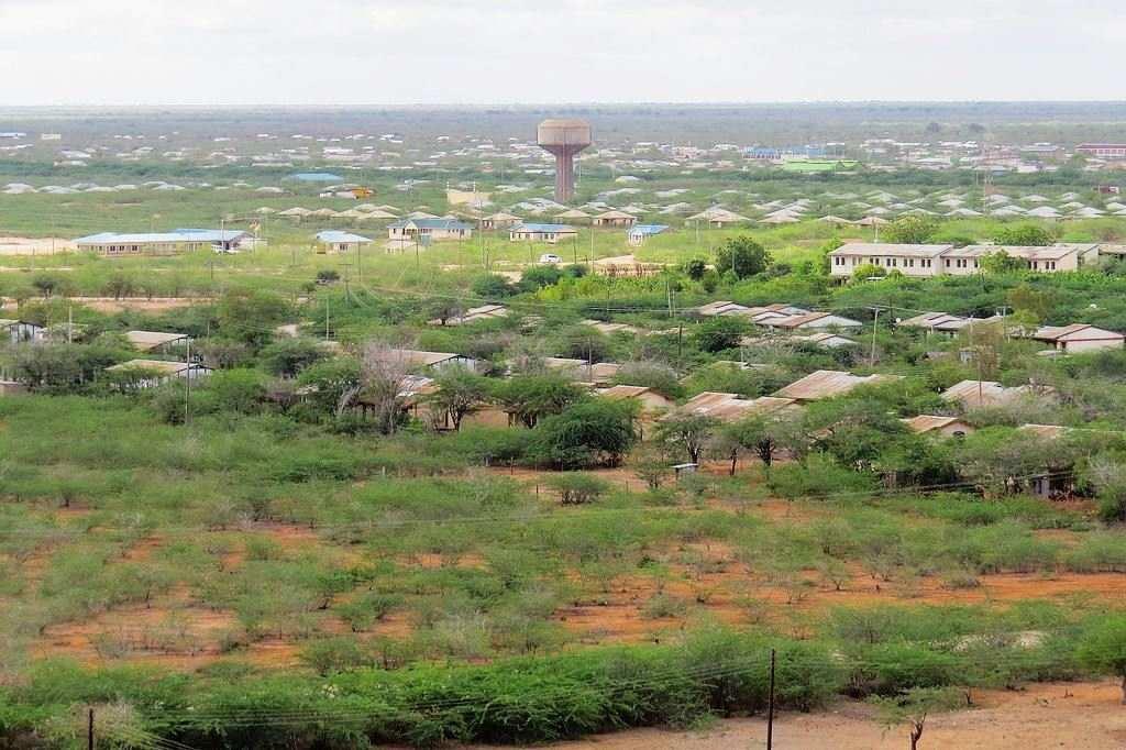 Bura Overlooking Bura Irrigation Scheme. Image Courtesy of Jerome KL