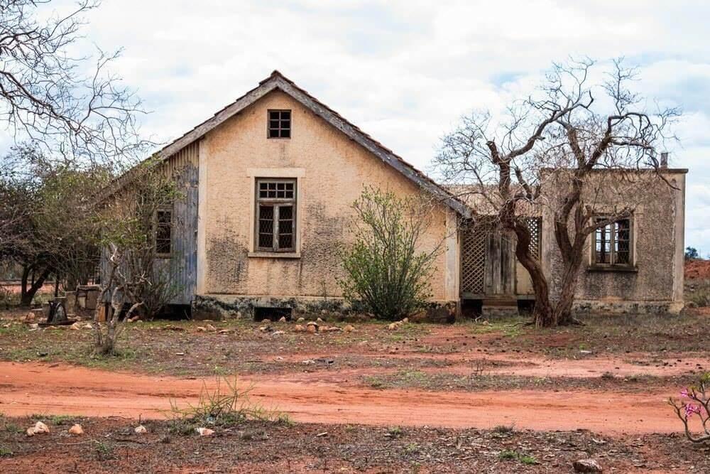 Old Railway Station at Maktau. Image Courtesy of Kenya Railways